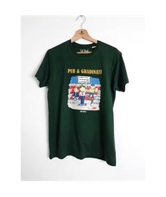 T-shirt pub e gradinate life style verde 1