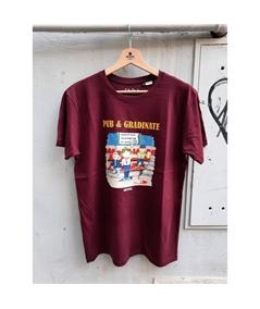 T-shirt pub e gradinate life style bordeaux 1
