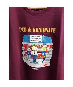 T-shirt pub e gradinate life style bordeaux 2