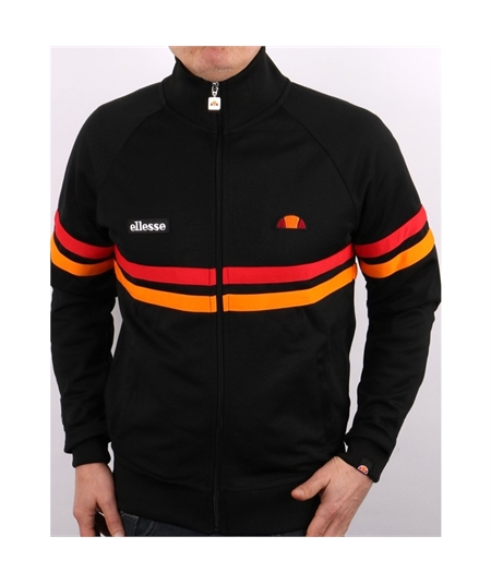 SHI00892 ellesse-rimini-track-top-black-orange casuals