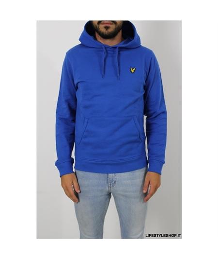 ml416 Felpa cappuccio Lyle Scott bright blue