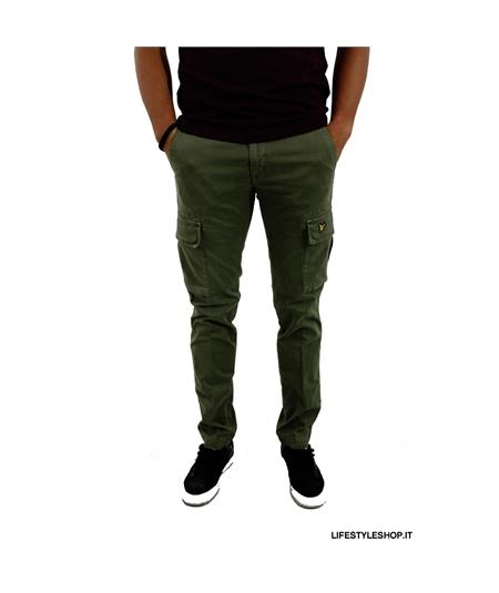 TR004 pantalone cargo combat tasconi lyle scott army green