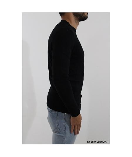 KN400 maglia cotone lana lyle scott black