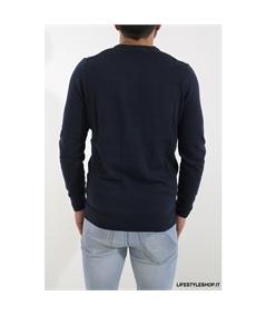 KN400 maglia cotone lana lyle scott blu navy