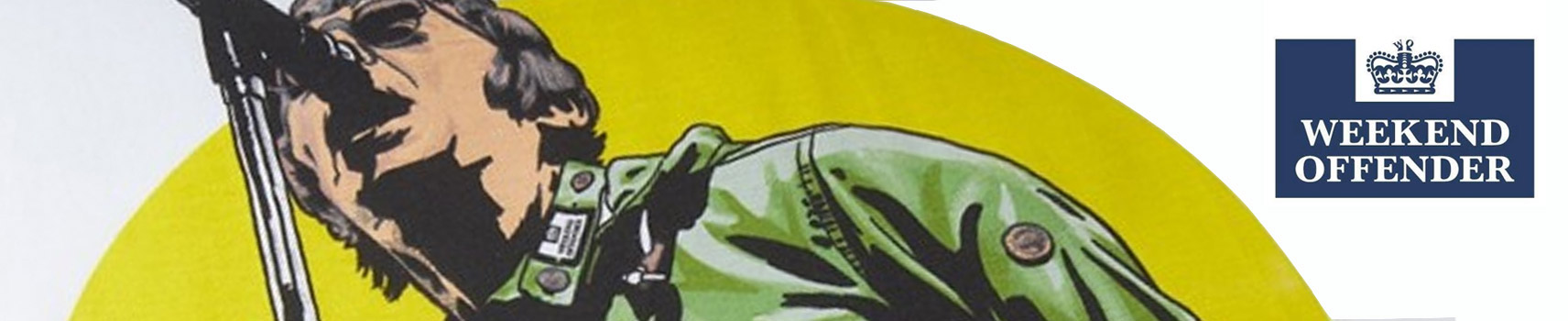 Weekend offender banner